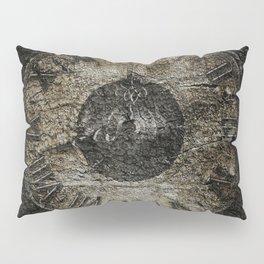 Grunge Clock Pillow Sham