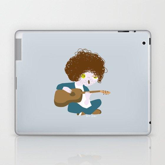 Curly Bob Laptop & iPad Skin