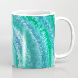 Swirling Blue Ocean Waters - Abstract Coffee Mug