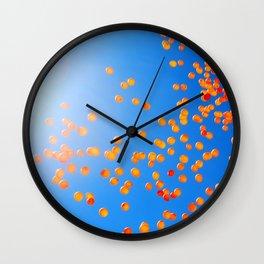 Clemson balloons Wall Clock