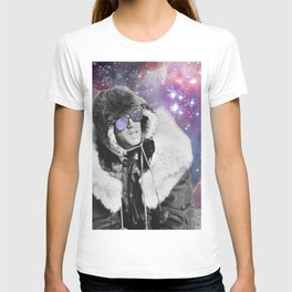 People of the Universe-Space Glasses-Purple T-shirt