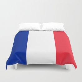 France / French Flag / Drapeau Duvet Cover