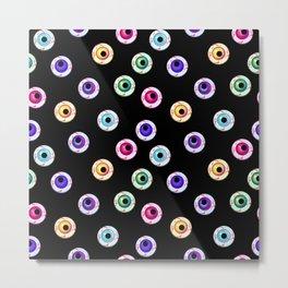 eye balls pattern Metal Print