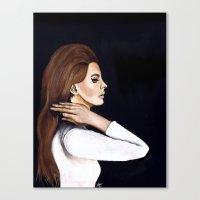 west coast Canvas Prints featuring WEST COAST by Alfonso Aranda