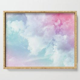 Cotton Candy Sky Serving Tray