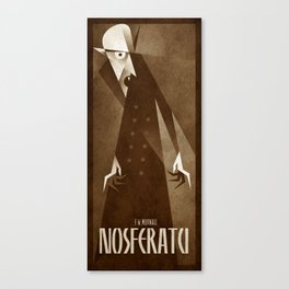 Nosferatu 1922 Canvas Print