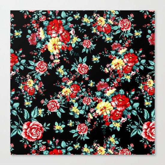 Flowers Pattern Canvas Print