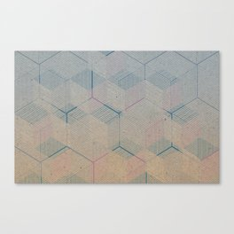 Multi-dimensional cubes Canvas Print