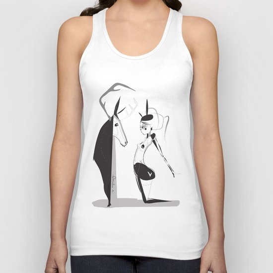 Lonely boy - Emilie Record Unisex Tank Top
