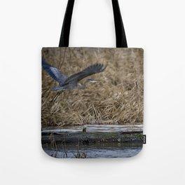 Flight of the Heron No. 1 Tote Bag