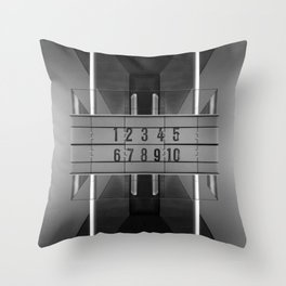Zen-Trum Throw Pillow