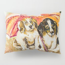 LOST IN THE RAIN Pillow Sham