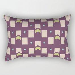 Art Deco Geometric Pattern 273 Rectangular Pillow