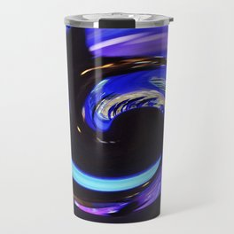 Swirling colors 01 Travel Mug
