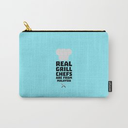 Real Grill Chefs are from Malaysia T-Shirt D8q2q Carry-All Pouch