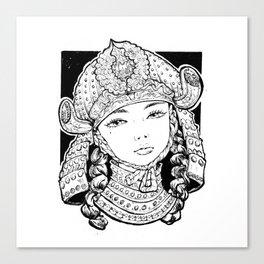 Chiyo Canvas Print
