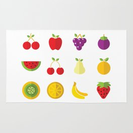 One Fruit A Day Keeps The Doctor Away Rug