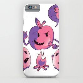 Apples horror story iPhone Case