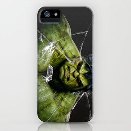Angry HULK  iPhone Case