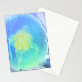 Blue Moon Jelly Fish Stationery Cards