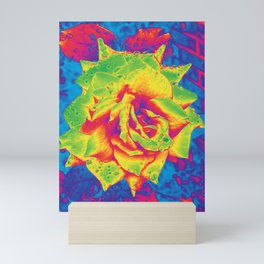Infrared Rose Mini Art Print