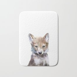 Little Wolf Bath Mat