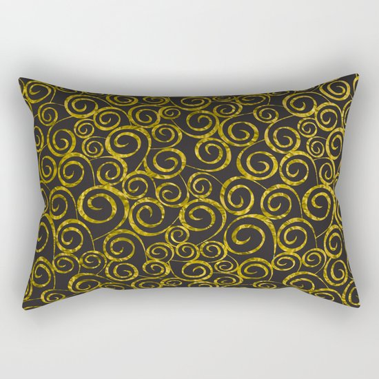 Festive curves Rectangular Pillow
