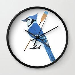 Crew Blue Jay Wall Clock