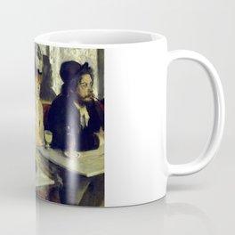 "Edgar Degas ""In a Café"" Coffee Mug"