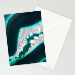 Fluo Agate Stationery Cards