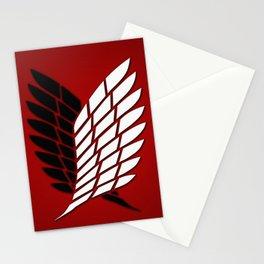 Attack On Titan Stationery Cards
