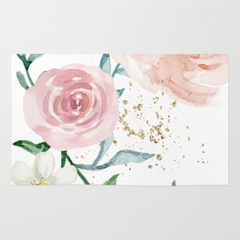 Rose Arrangement No. 1 Rug