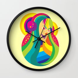 Happy Music - Joy of Life Wall Clock