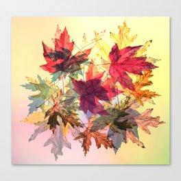 fallen leaves III Canvas Print