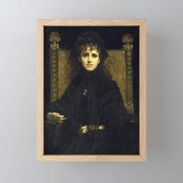 Jules-Élie Delaunay - Untitled Framed Mini Art Print
