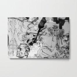 I Like You Metal Print