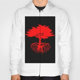 Heart Tree - Red Hoody