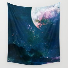 5pace 4bstarct Wall Tapestry