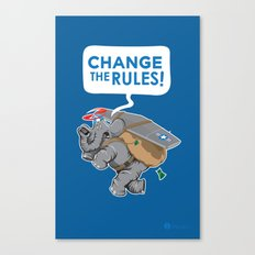 CHANGE The RULES Canvas Print