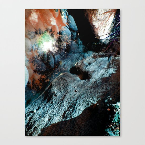 Uranium Beach Canvas Print