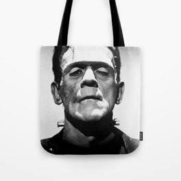 Frankenstein's Monster - Classic Horror Movies Tote Bag