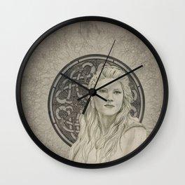 Lagertha Wall Clock