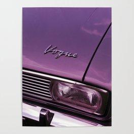 VogueClassicCar Poster
