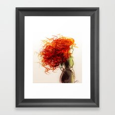 Merida Framed Art Print