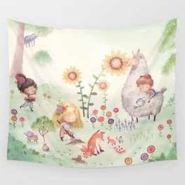 Forrest Garden Wall Tapestry