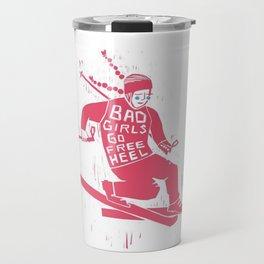 Free heel Travel Mug