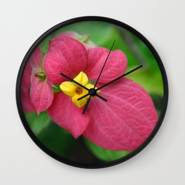 Tropical Flower - Philippines Wall Clock