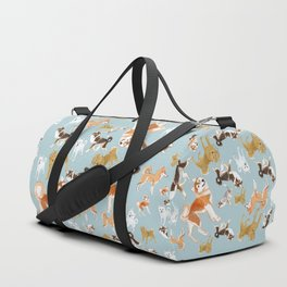 Japanese Dog Breeds Duffle Bag