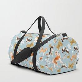 Japanese Dog Breeds Duffle Bag