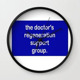 The Doctor's Regeneration Wall Clock